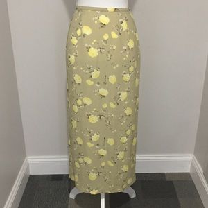 🇺🇸SALE! NEW*OLD NAVY Long Skirt~Sz 2~Floral